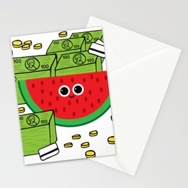 MELONaire Stationery Cards