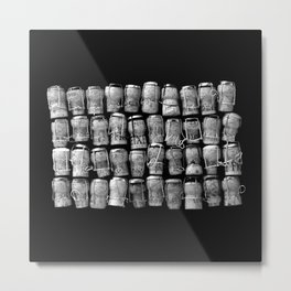 Something Nostalgic 4 Black and White #decor #society6 #buyart Metal Print