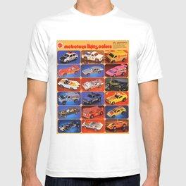 Rare Hot Wheels Italian Market Mebetoys Redline Flying Colors Poster T-shirt