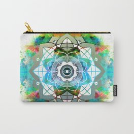 Atmospheric Mandala 0354 Carry-All Pouch