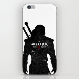 Geralt Silhouette iPhone Skin