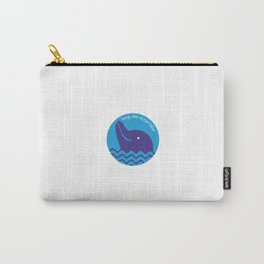Keep the Ocean Blue Carry-All Pouch