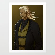 Liquid Ocelot Art Print