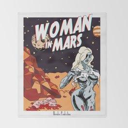 WOMAN IN MARS Throw Blanket