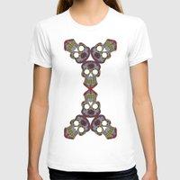 sugar skulls T-shirts featuring Sugar Skulls by Weeverbee