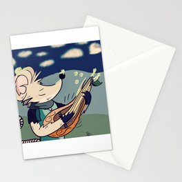 The Wandering Rat Bard Stationery Cards