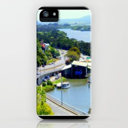 West Tamar Highway Launceston Tasmania Australia iPhone Case
