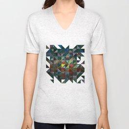 Colour Crystallization Unisex V-Neck