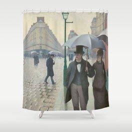 Gustave Caillebotte - Paris Street; Rainy Day Shower Curtain