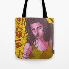 Polly Jean and Ghosts Tote Bag