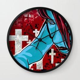 Repent Wall Clock