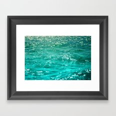 SIMPLY SEA Framed Art Print