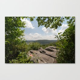 Overlook at DV Rocks Canvas Print