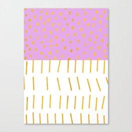 AZTEC BABE - Modern Pink Furniture Canvas Print
