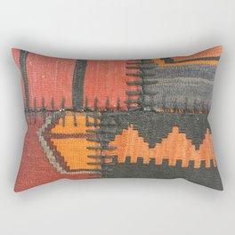 Caucasian Patchwork Rectangular Pillow