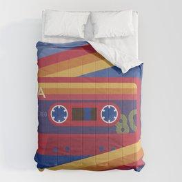 80s Retro Tape Deck Comforters