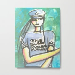 soul power Metal Print