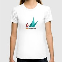 mercedes T-shirts featuring F1 2015 - #6 Rosberg [v2] by MS80 Design