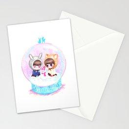 Onho Snow Globe Stationery Cards