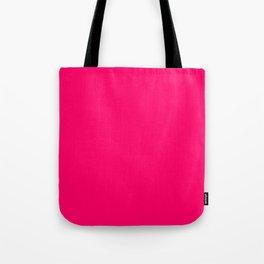 Bright Fluorescent Pink Neon Tote Bag
