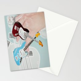 Mr Bassman Claret and Blue Army Stationery Cards