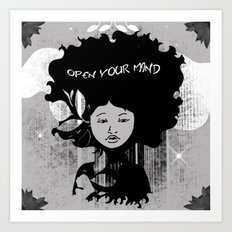 Open Your Mind Art Print