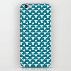 Dragon Scales Teal  iPhone & iPod Skin