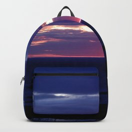 Purple Glow at Sunset Backpack
