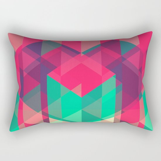 geometric II Rectangular Pillow