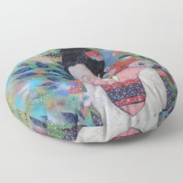 always a maiko Floor Pillow