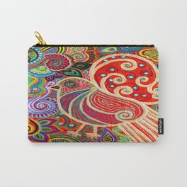 The Songstress in The Spring Carry-All Pouch