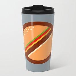 No Food Allowed Metal Travel Mug