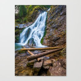 Cascada Valul Miresei, Romania Canvas Print