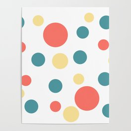 Coral Pop Poster
