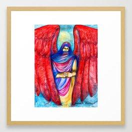 Keeper of Tears by Joshua B. Wichterich Framed Art Print