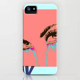 WAVY EYES iPhone Case