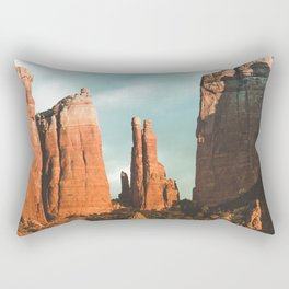 Desert Vortex Rectangular Pillow