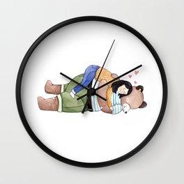 Hugs Wall Clock