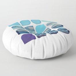 Cold Comfort Collage — Requiem Floor Pillow