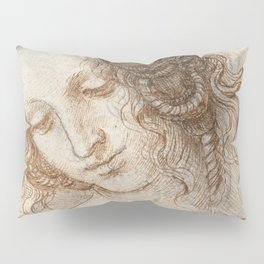 Leonardo da Vinci - Head of Leda Pillow Sham