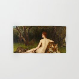 """Circe"" by John Collier (1909) Hand & Bath Towel"