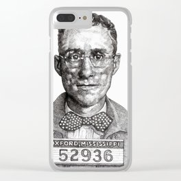 Poindexter the Peeper Clear iPhone Case