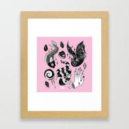 Pink Magic Framed Art Print