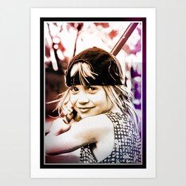 AMANDA ART Art Print