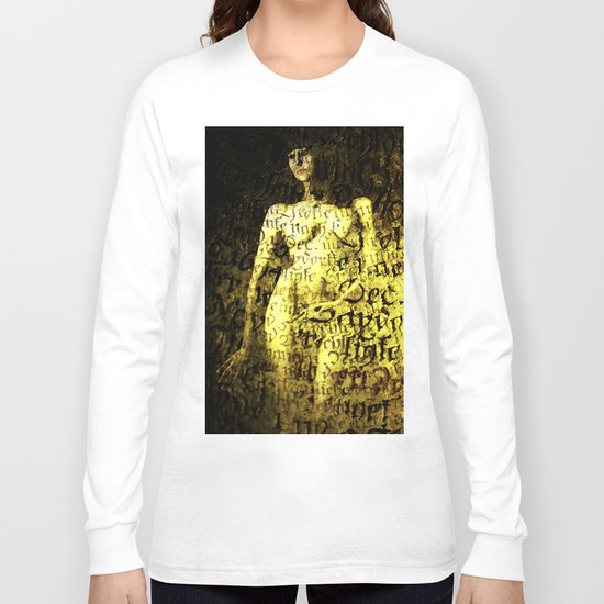Nude Art Collage Long Sleeve T-shirt