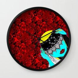Iriana- Serie Viva La Femme Wall Clock