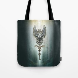 the key and the door Tote Bag