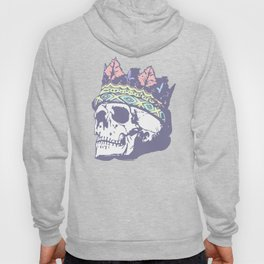 Pastel Classic Style Skull with Crown Hoody