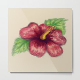 Hawaiian Hibiscus Metal Print