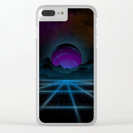 Outrun-2 Clear iPhone Case